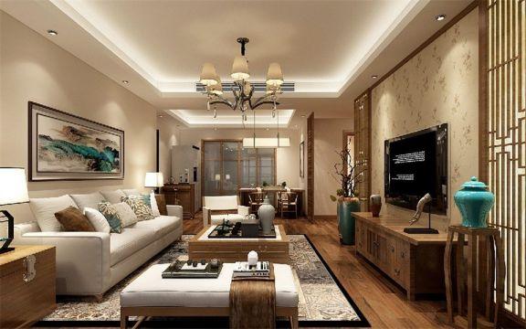 2021古典150平米效果图 2021古典三居室装修设计图片