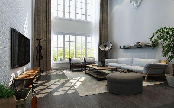 典雅客厅飘窗设计图