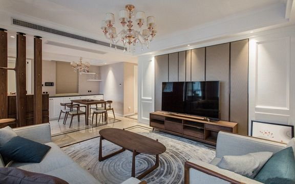 2020混搭90平米裝飾設計 2020混搭三居室裝修設計圖片