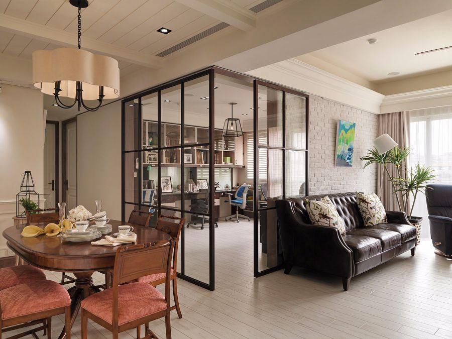 简洁客厅沙发装修设计图片