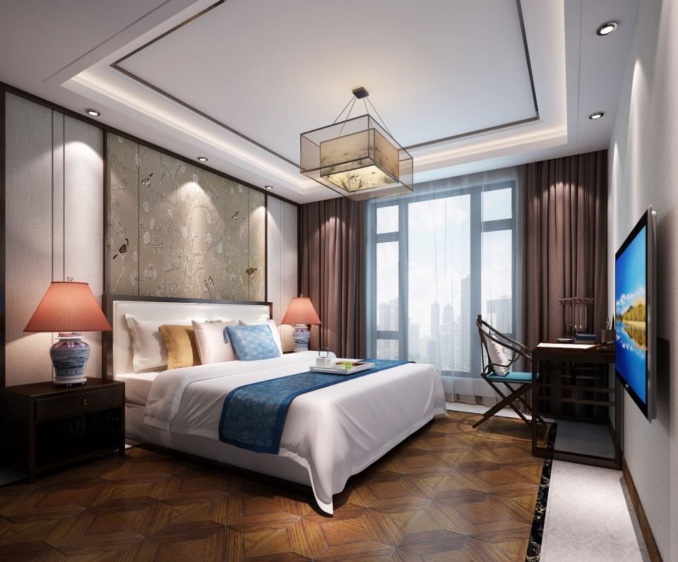 时尚卧室案例图片