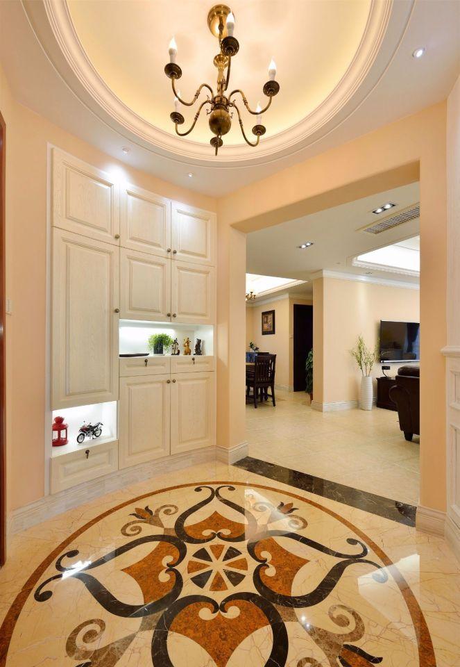 摩登白色玄关装修实景图