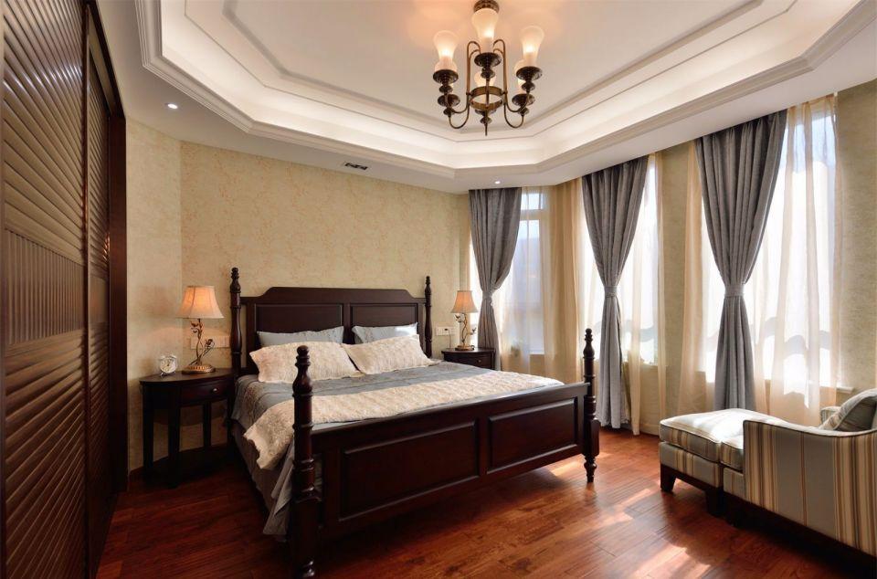 精致卧室美式案例图片
