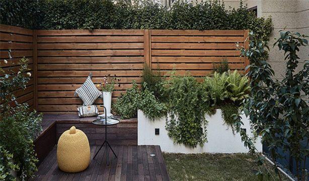 花园地砖北欧风格装饰图片