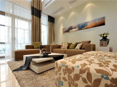 130平现代简约风格四居室装修效果图
