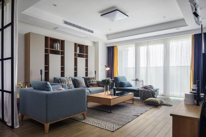 165平北欧风格四居室装修效果图