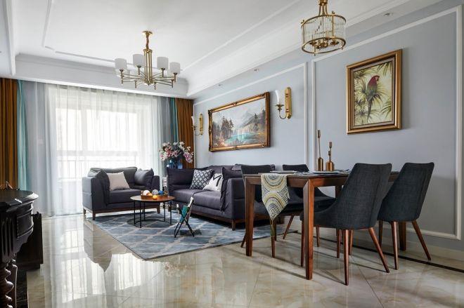 2018混搭110平米装修设计 2018混搭三居室装修设计图片