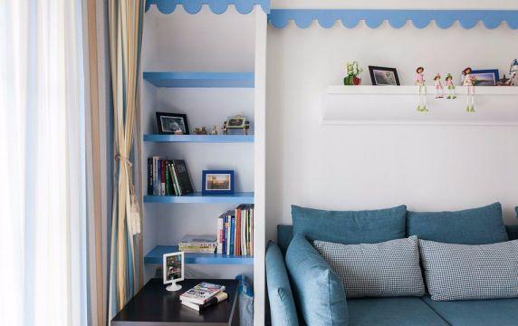 93平地中海风格三居室装修效果图