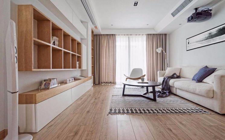 90平日式风格两居室装修效果图