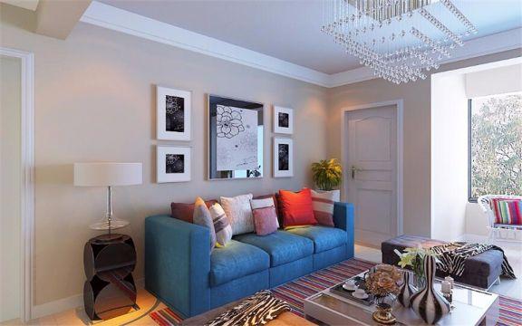 135平现代简约风格三居室装修效果图