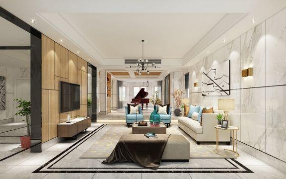 321平新中式风格别墅装修效果图