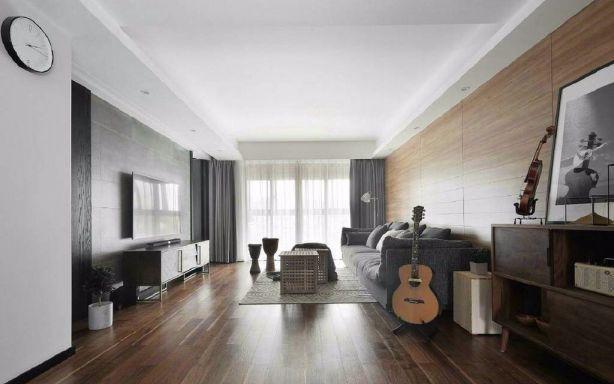81平北欧风格两居室装修效果图