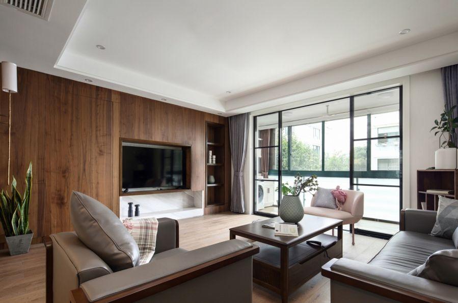 2019中式70平米设计图片 2019中式二居室装修设计
