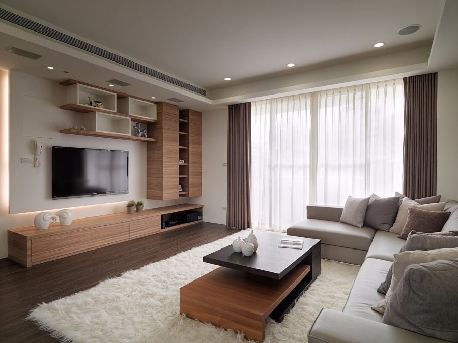 现代风格100平米三室两厅新房装修效果图