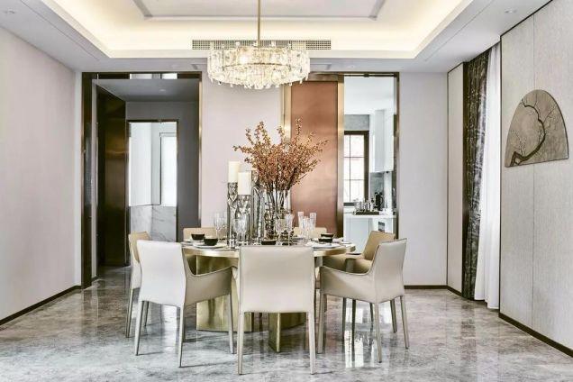 現代風格90平米兩室兩廳新房裝修效果圖
