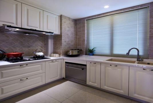 欧式风格厨房橱柜设计方案