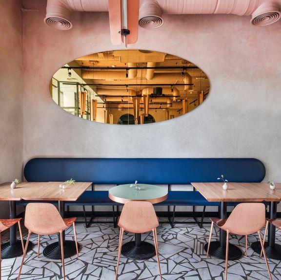 简约风格咖啡厅装修效果图