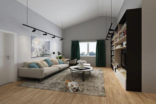 2019北欧150平米效果图 2019北欧二居室装修设计