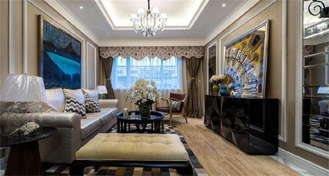 现代风格173平米大户型室内装修效果图