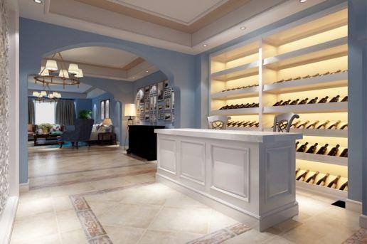 2019地中海酒窖装修设计图片 2019地中海地砖装修效果图大全