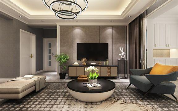 2020现代简约150平米效果图 2020现代简约楼房图片