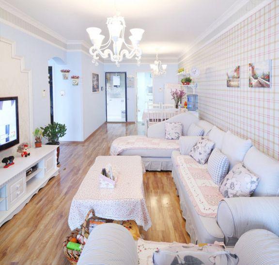 102平东南亚风格三居室装修效果图