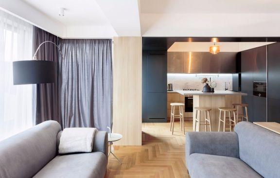 2019现代110平米u乐娱乐平台设计 2019现代楼房图片