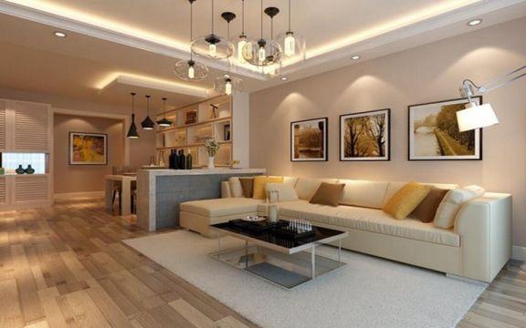 2018现代110平米装修设计 2018现代三居室装修设计图片