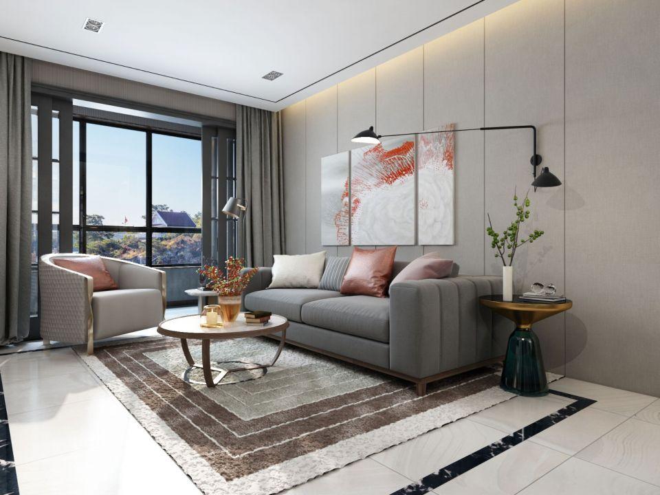 2019北欧110平米装修设计 2019北欧三居室装修设计图片