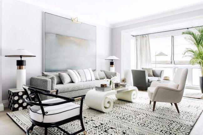 2018美式150平米效果图 2018美式四居室装修图