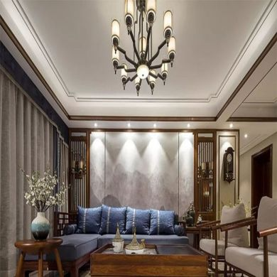 2019新古典110平米装修设计 2019新古典二居室装修设计