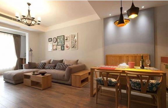 2020日式110平米装修设计 2020日式三居室装修设计图片