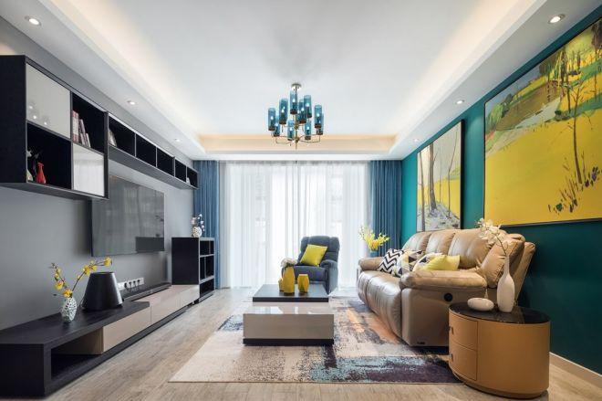 146平现代简约风格三室两厅装修效果图