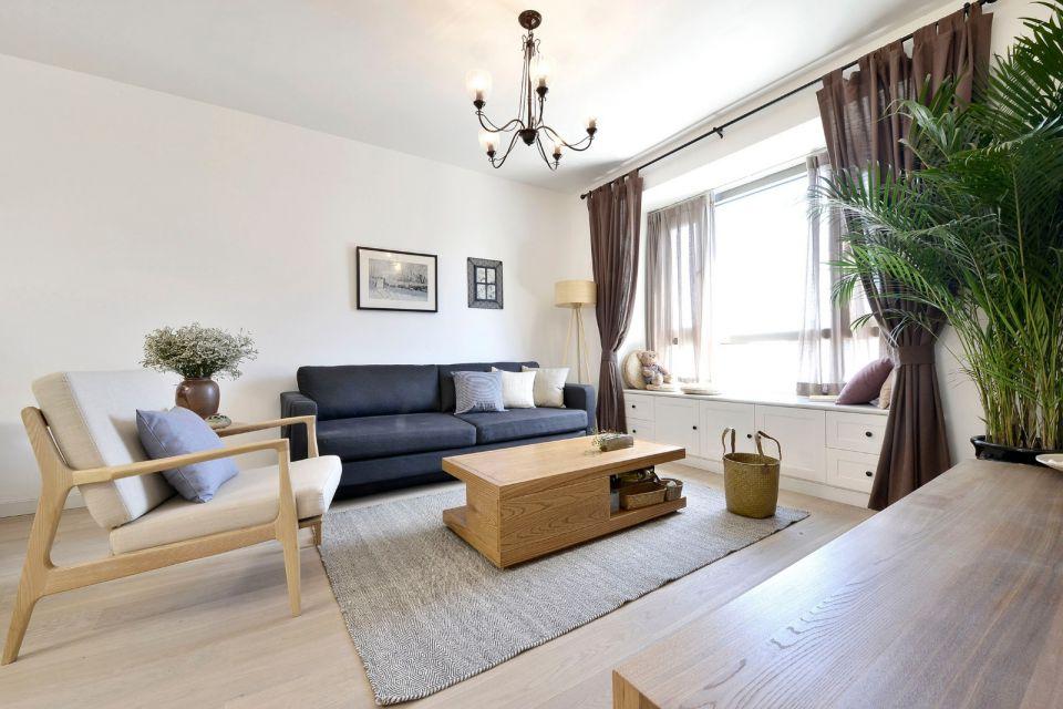 96平日式风格两居室装修效果图