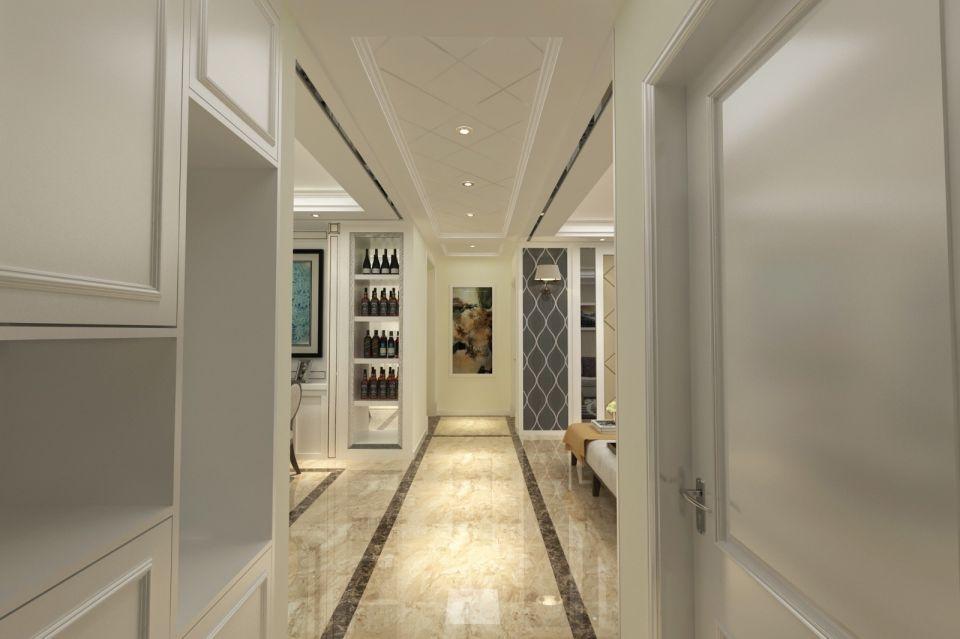 2018现代客厅装修设计 2018现代走廊效果图