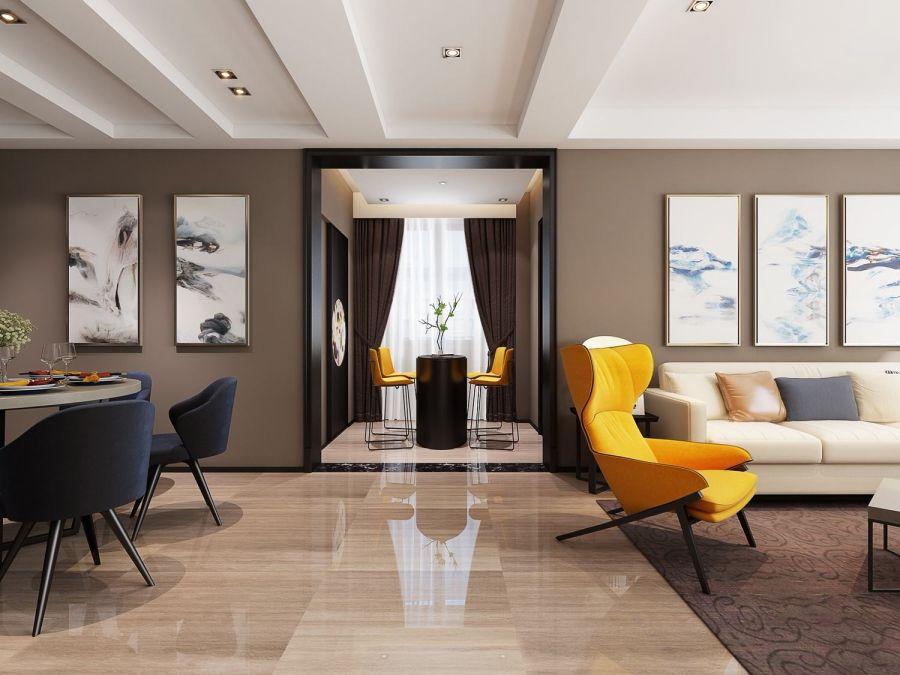 客厅沙发现代U乐国际装饰设计图片