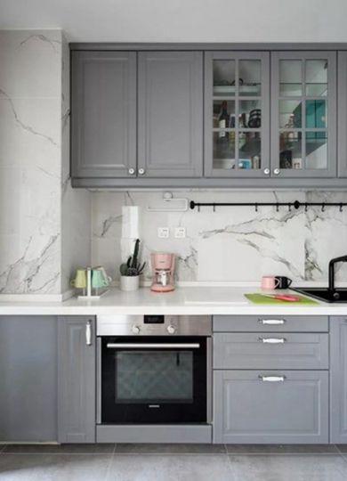 厨房橱柜现代简约U乐国际装饰优乐娱乐官网欢迎您