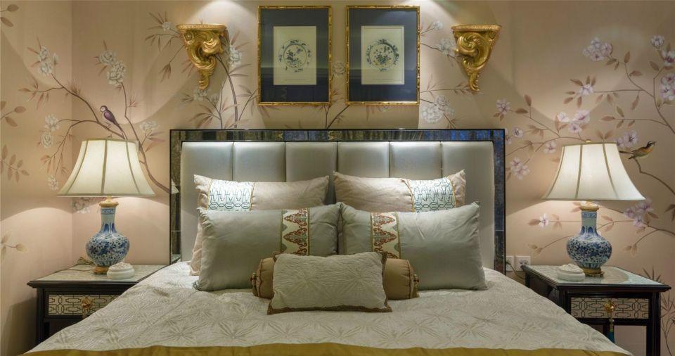 卧室灯具新中式风格效果图