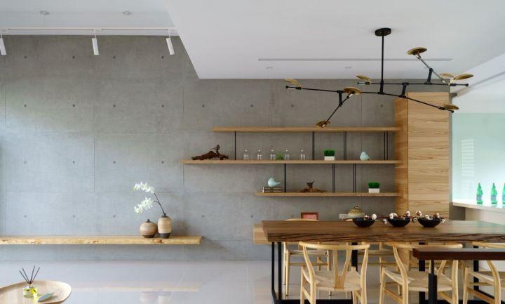 餐厅吊顶日式风格装潢图片