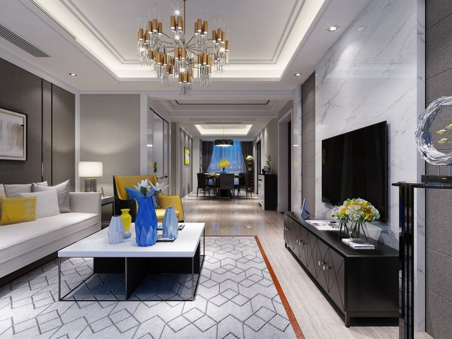 2019简约70平米设计图片 2019简约二居室装修设计