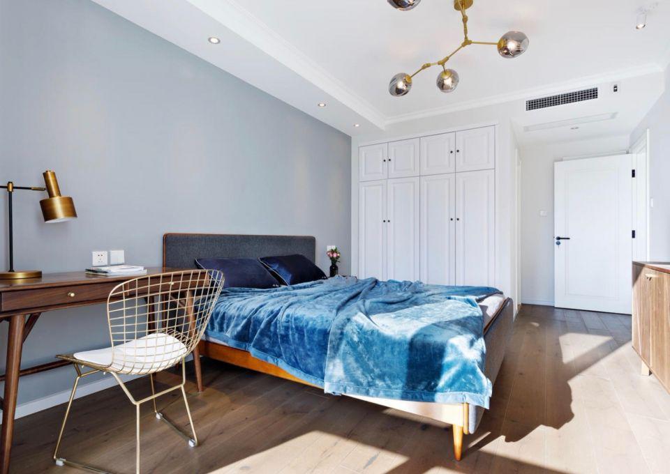 卧室衣柜北欧风格装潢图片
