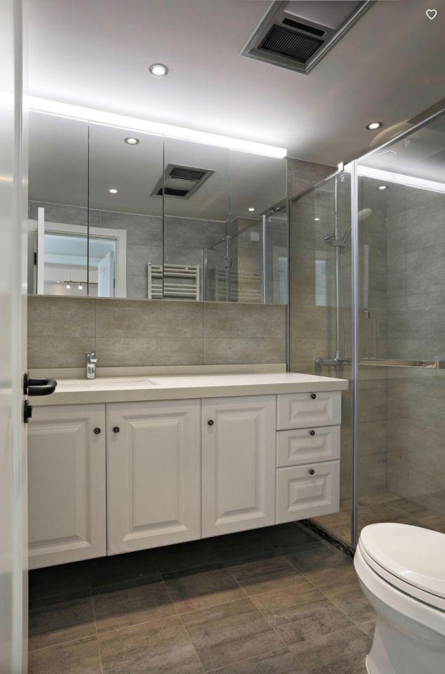 卫生间洗漱台北欧风格装潢设计图片