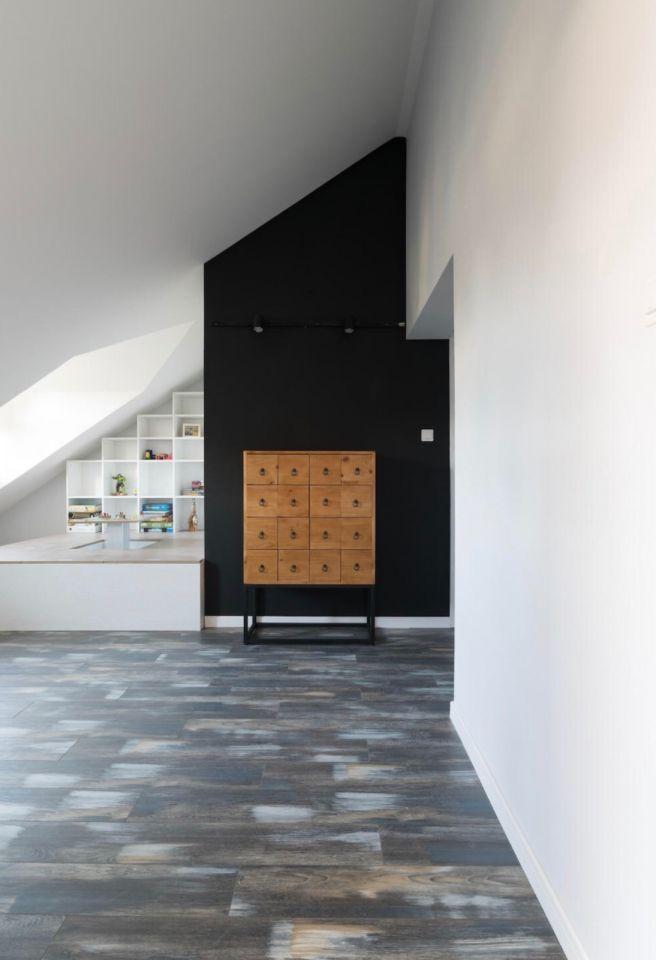 书房阁楼北欧风格装潢效果图