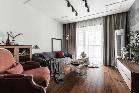 140平混搭风格三居室装修效果图