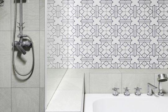 卫生间洗漱台混搭风格装饰效果图