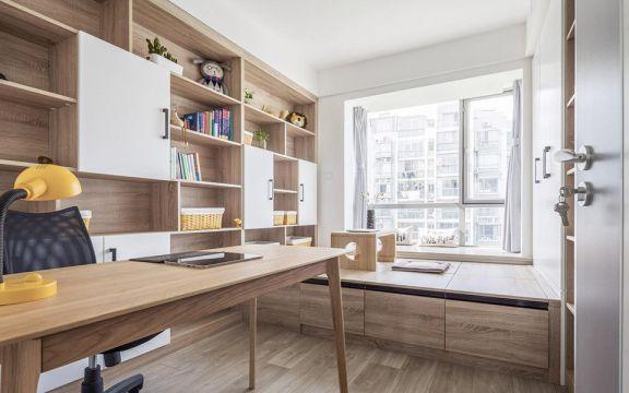 书房书桌北欧U乐国际装饰设计图片
