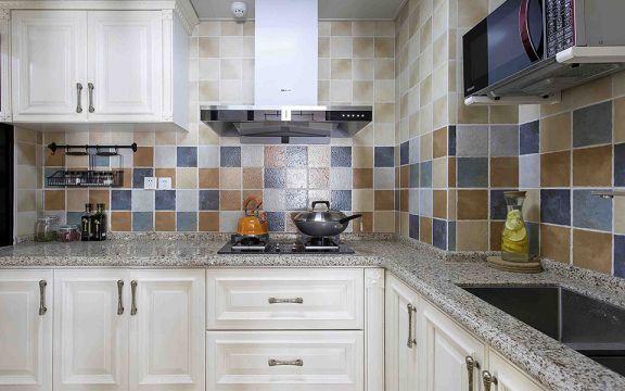 美式廚房整體櫥柜家裝設計