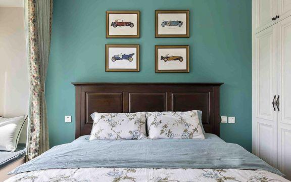 卧室背景墙u乐国际娱乐城U乐国际装潢图片