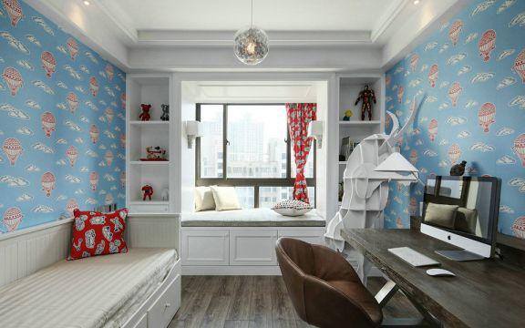 书房书桌现代U乐国际u乐娱乐平台图片