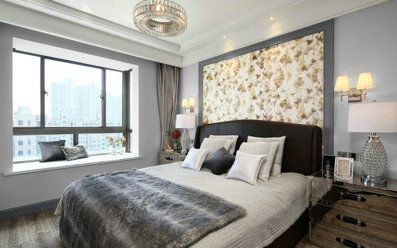 卧室床现代U乐国际装潢图片